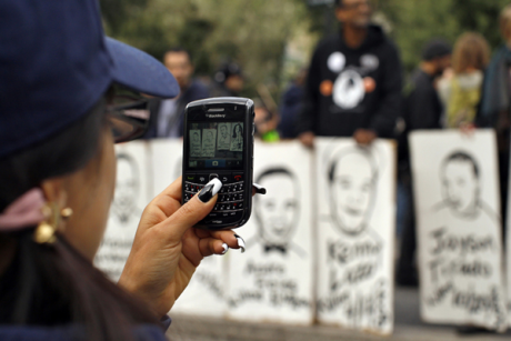 How cellphone cameras shape OWS