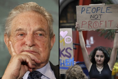 Reuters: George Soros is secretly behind Occupy Wall Street!