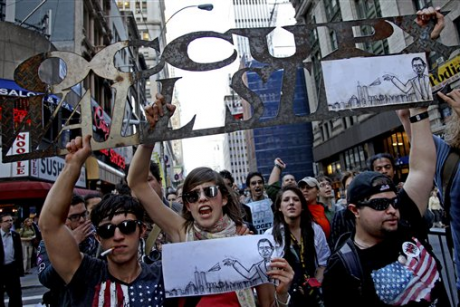 Occupy Wall Street isn't the left's Tea Party