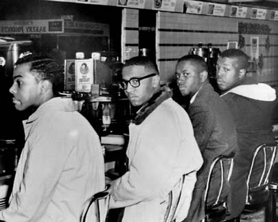 greensboro sit in Greensboro sit-ins: student sit-ins 52 years later the greensboro sit-in was a civil rights protest that started in 1960, when young african-american students staged a sit-in at a segregated woolworth's lunch counter in greensboro.