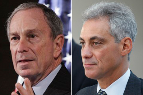 Michael Bloomberg and Rahm Emanuel