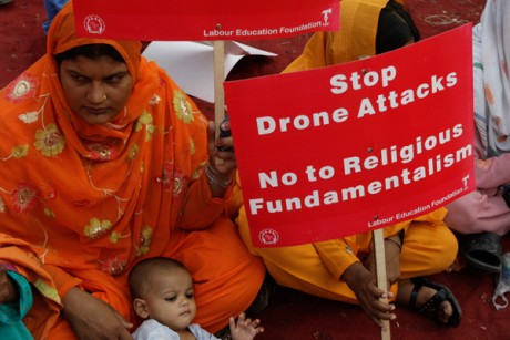 Pakistan Protests Drones