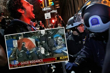 I watched two days of Fox News coverage of OWS