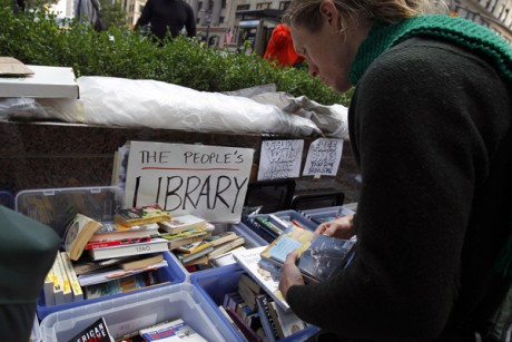 How I helped rescue the OWS library