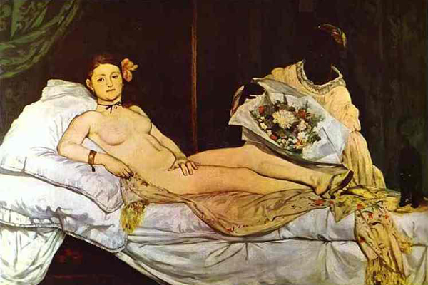 manet The 34 year old model, who is expecting a boy this month, posed nude for an ...