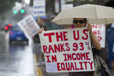 Why income inequality suddenly matters