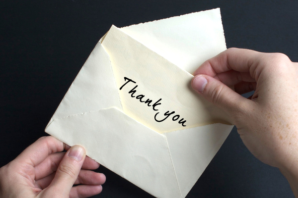 Im done writing thankyou notes Salon – Writing Thank You Notes