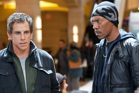 "Ben Stiller and Eddie Murphy in ""Tower Heist"""