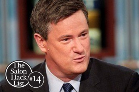 14. Joe Scarborough