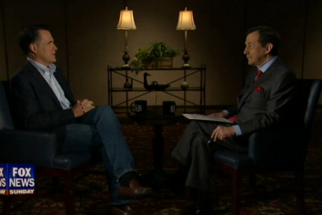 Romney does first Sunday interview in two years