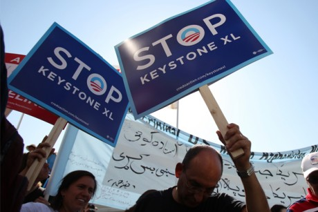 Keystone pipeline as GOP poison pill