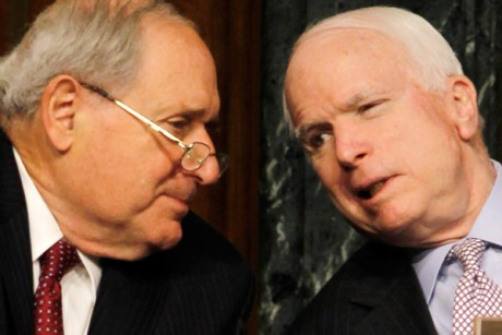 Carl Levin and John McCain