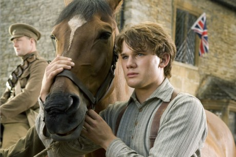 "Jeremy Irvine in ""War Horse"""