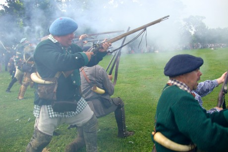 Embedded with the reenactors