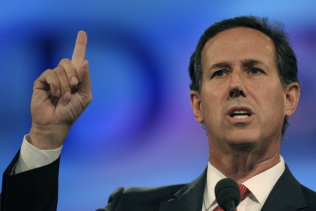 Pro-settler Santorum claims Mexico and the West Bank