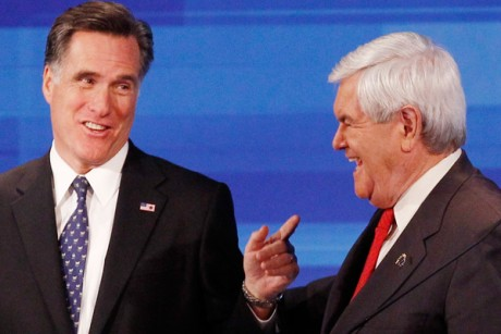 Romney attacks Newt as