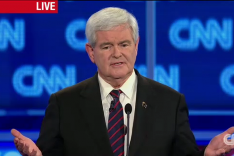 The self-destruction of Newt Gingrich