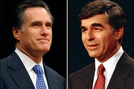 Mitt's unlikely role model: Michael Dukakis
