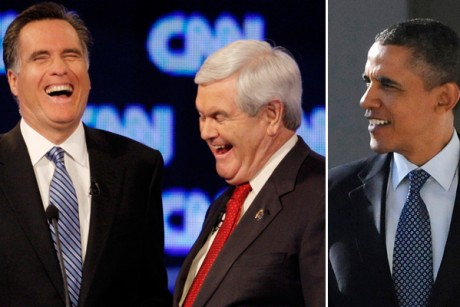 Romney VS Obama and Gingrich