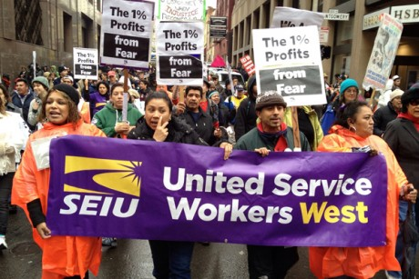 Unions and Occupy: who's leading who?