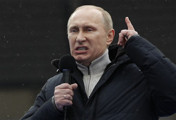 Image result for putin scary