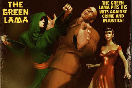 America's forgotten Buddhist superhero - from the 1940's pulp magazine Green-lama2-460x307