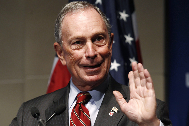 topic michael bloomberg business person politician