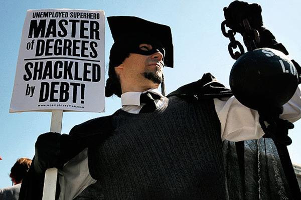 Student loan debt gone social
