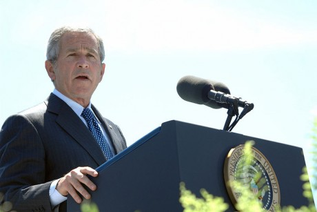 George W. Bush, [War Criminal]  (Credit: Wikipedia)