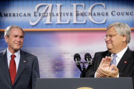 ALEC attacks shareholders