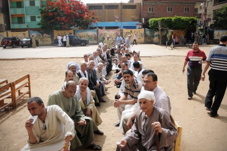 Egyptians vote in first free presidential vote