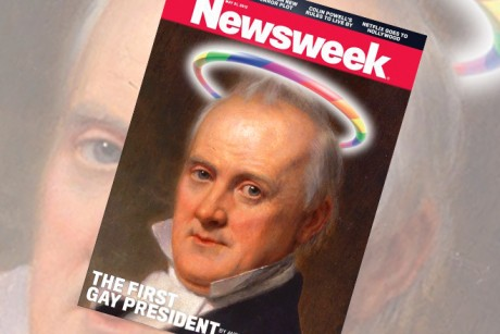 Our real first gay president