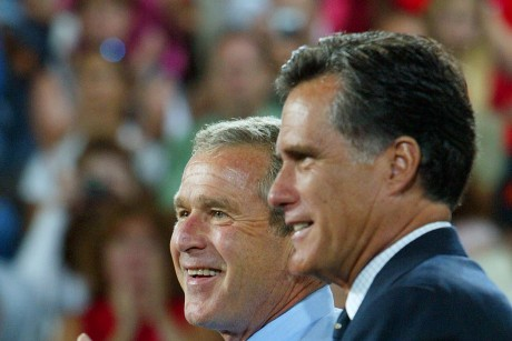 bush romney.jpeg3 460x307 MORE Divided than Ever