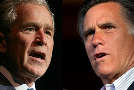 The Romney-Bush mind meld
