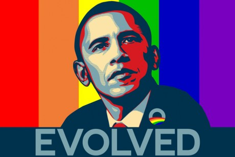 ... today became the first American president to endorse same-sex marriage, ...