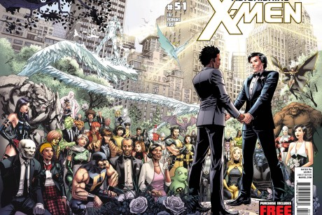 This comic book cover image released by Marvel shows