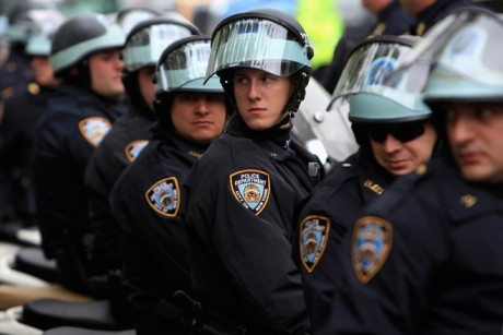 The NYPD May Day siege