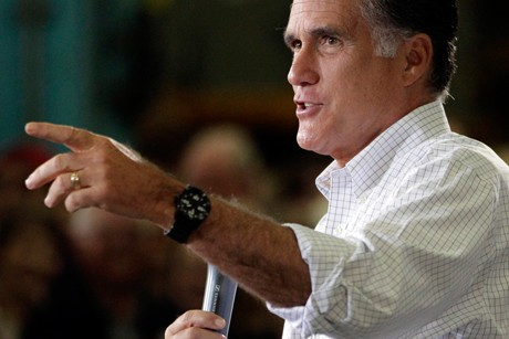 Romney's moment of cowardice