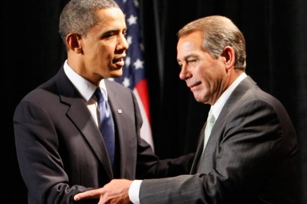 President Obama and John Boehner