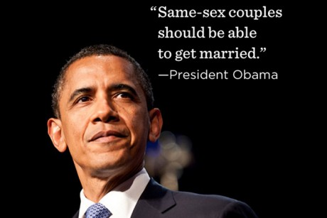 The president's endorsement of gay marriage becomes a cleverly -- and ...