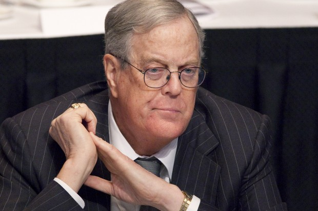 Koch brothers donated big to ALEC, Heartland Institute