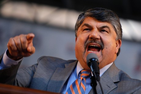 Richard Trumka (Credit: Reuters/Mike Segar)