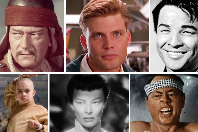 world of reel the 6 worst cases of whitewashing in hollywood history