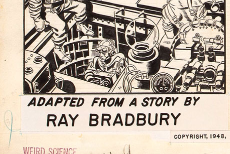 Ray Bradbury: 1950s comics' illustrated man