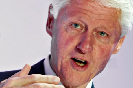 Bill Clinton said what?