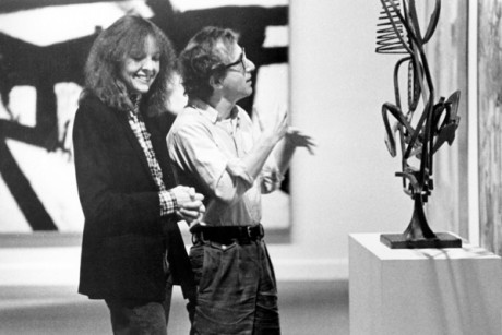 "Diane Keaton and Woody Allen in ""Manhattan"""