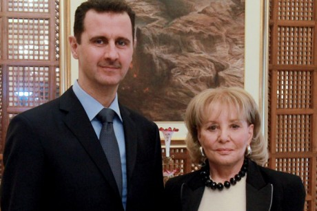 Barbara Walters sorry she tried to get an Assad advisor a sweet internship