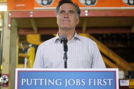 When Romney spun bad jobs numbers
