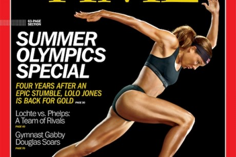 Time Olympics covers feature women athletes as ... athletes