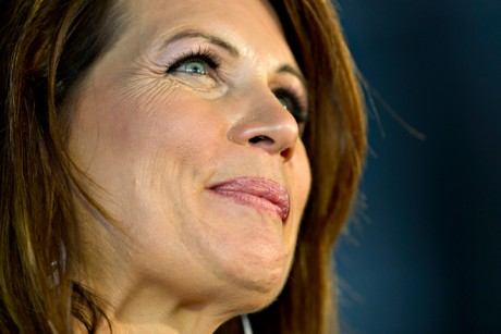 Newspaper notes Michele Bachmann's attractiveness, elides her awfulness